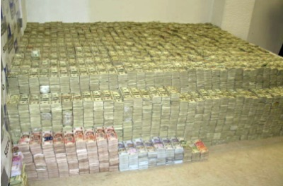 extrem viel Geld machen, ganz viel Cash